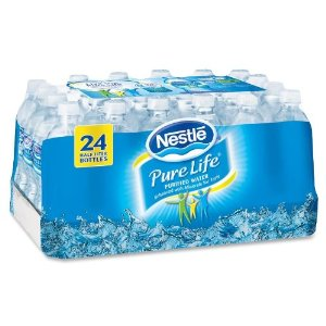 nestle pure life water 24ct