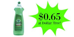 Dollar Tree: Palmolive Dish Soap Only $0.65!