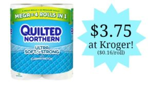 Kroger: Quilted Northern Only $0.16 Per Roll!
