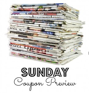 Sunday Coupon Preview – NO Inserts in Sunday's Paper