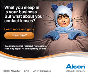 Wear Contact Lenses? Get a FREE 30 Day Trial Certificate for Air Optix Contact Lenses