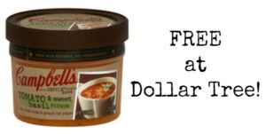 FREE Campbell's Slow Kettle Style Soup at Dollar Tree!