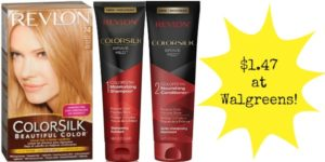 Walgreens: Revlon Colorsilk Hair Products Only $1.47!
