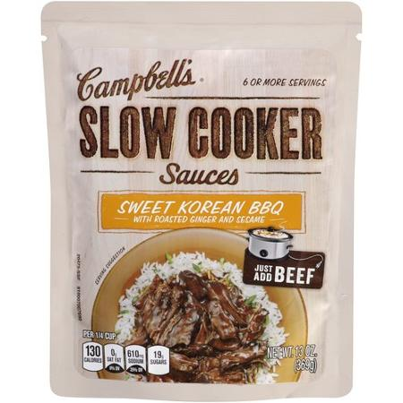campbell's slow cooker sauce