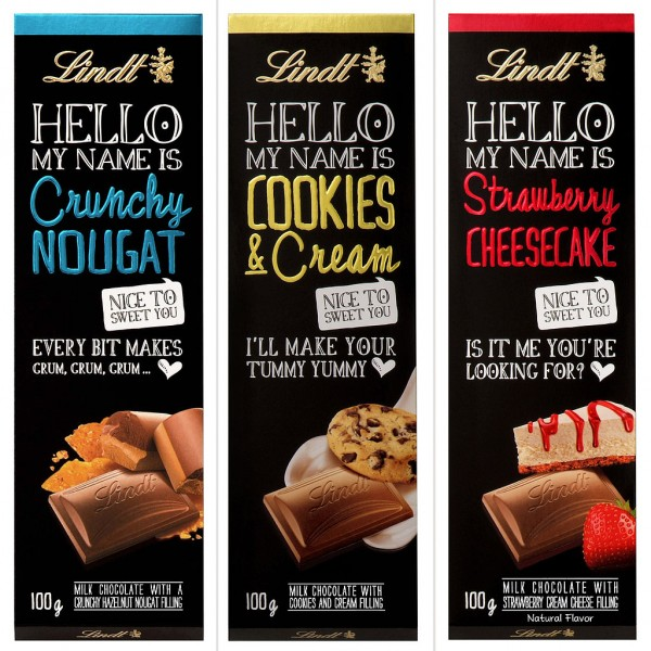 Lindt Hello Chocolate Bar