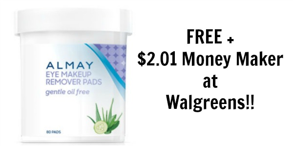 FREE Almay Eye Makeup Remover At Walgreens! - Become A Coupon Queen