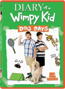 Diary of a Wimpy Kid: Dog Days DVD Just $9.96!