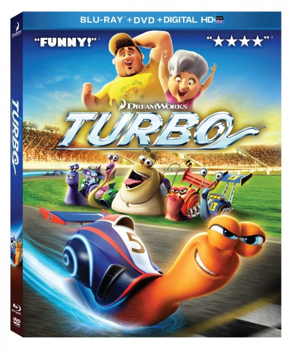 Turbo Blu-ray and DVD Combo Pack