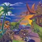 Melissa & Doug Land of Dinosaurs Puzzle 60pc just $6.99!