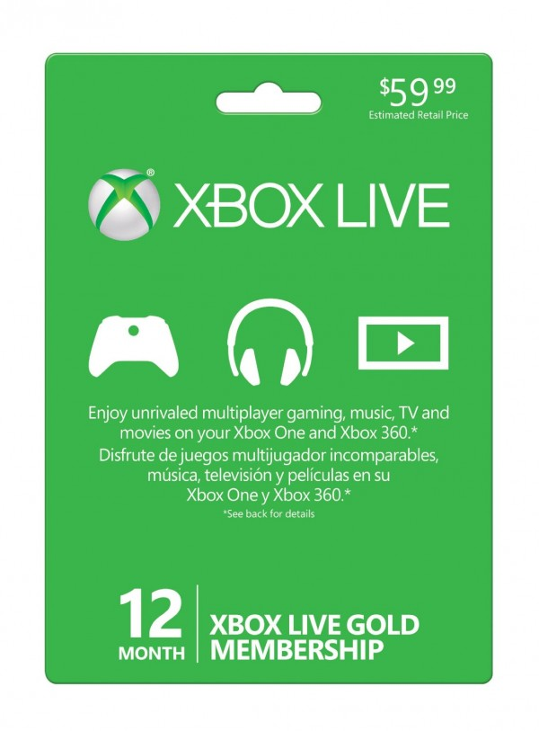 12 month xbox live gold membership only 39 99 reg 59 99