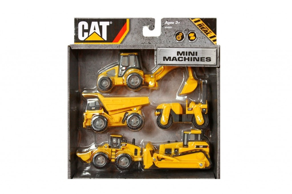 Cat Construction Toys For Boys : Caterpillar construction mini machine pack just