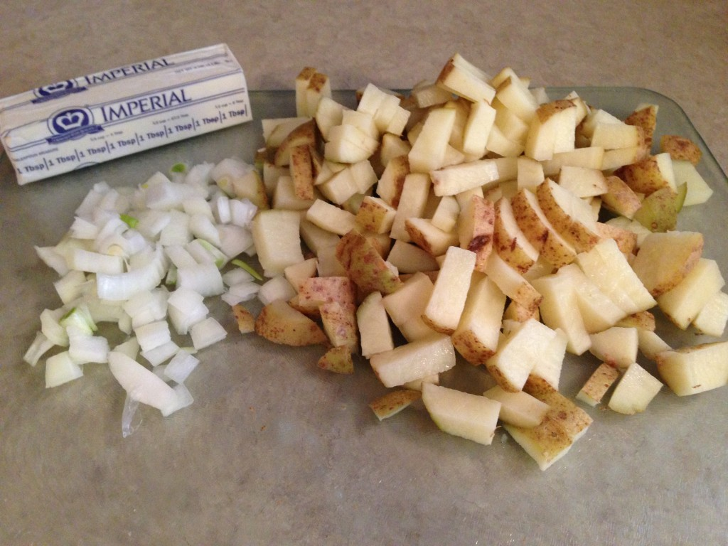 Buttery Diced Potatoes Side Dish