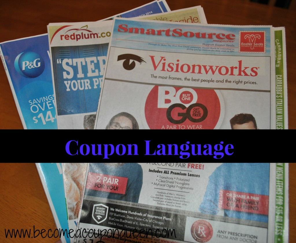 coupon language
