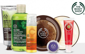 The Body Shop: $20 of Skincare, Makeup, Hair & Body Products for just $10!