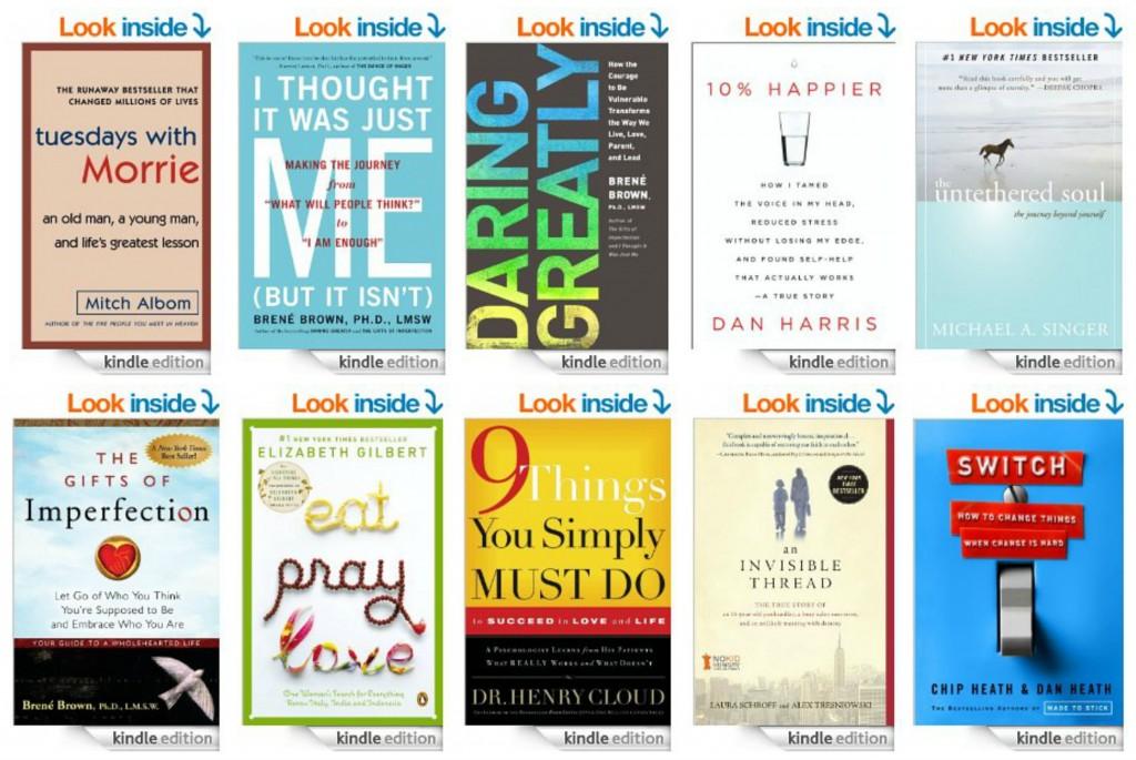 Top 10 Inspirational Kindle Books