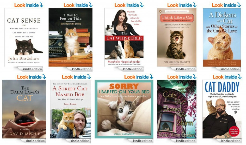 Top 10 Kindle Books for Cat Lovers