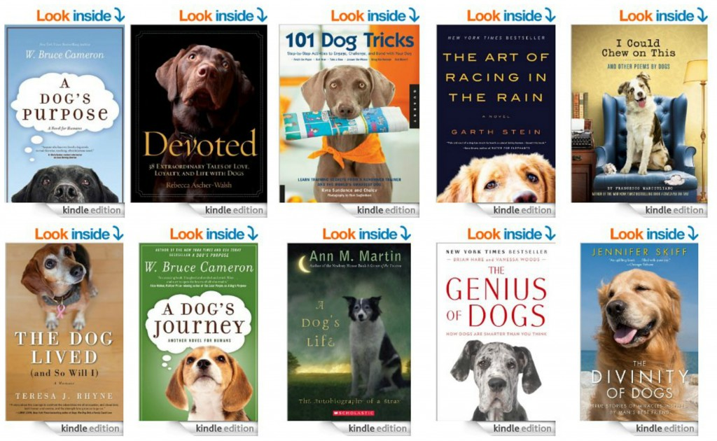 Top 10 Kindle Books for Dog Lovers
