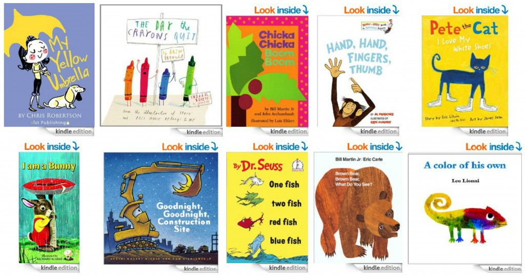 Top 10 Kindle Books for Early Learners