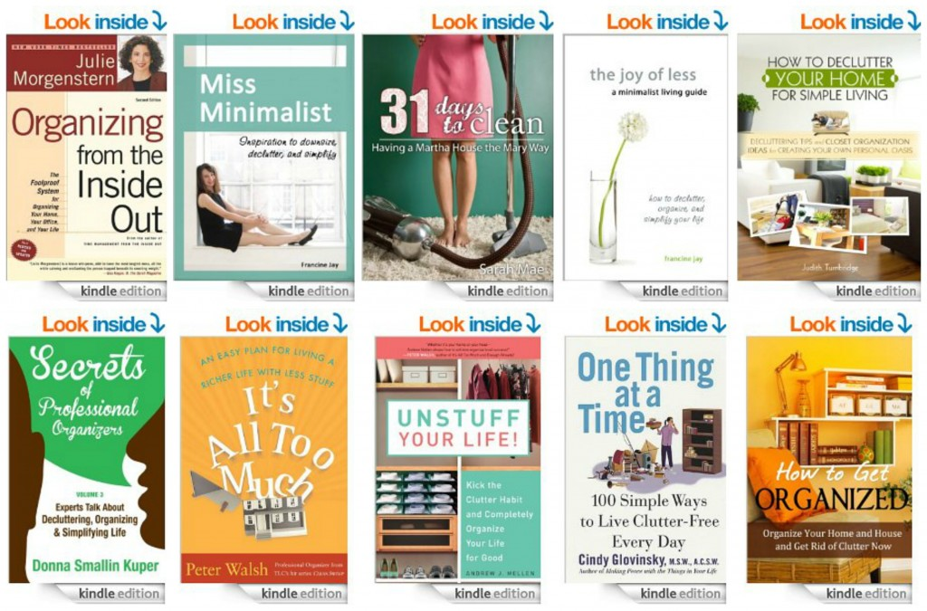 Top 10 Kindle Books on Organization