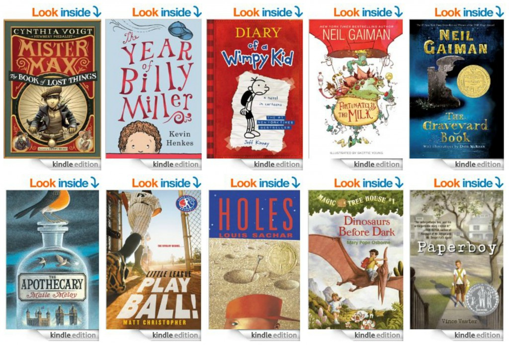 Top 10 Kindle Chapter Books for Boys