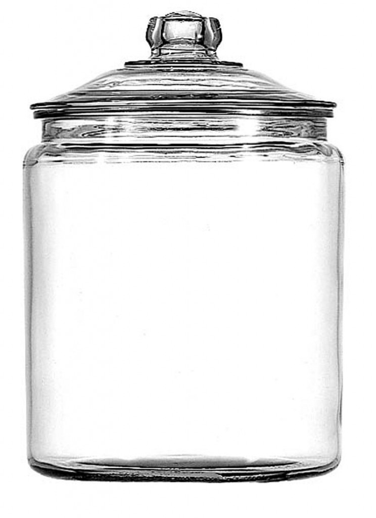 anchor hocking 1 gallon heritage hill jar