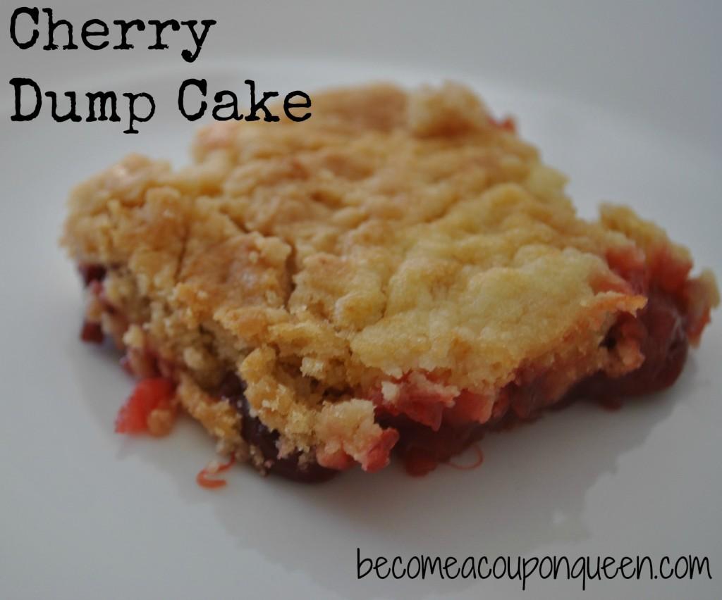 cherry dump cake