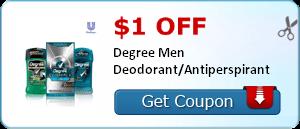 degree men deodorant coupon