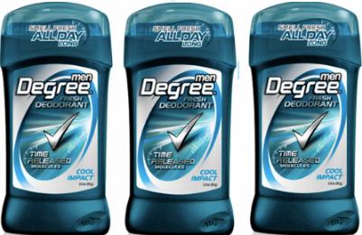 degree men deodorant