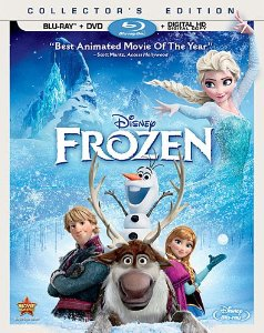 frozen dvd and blu-ray