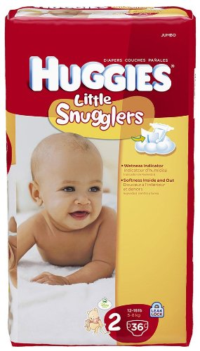huggies little snugglers jumbo pack