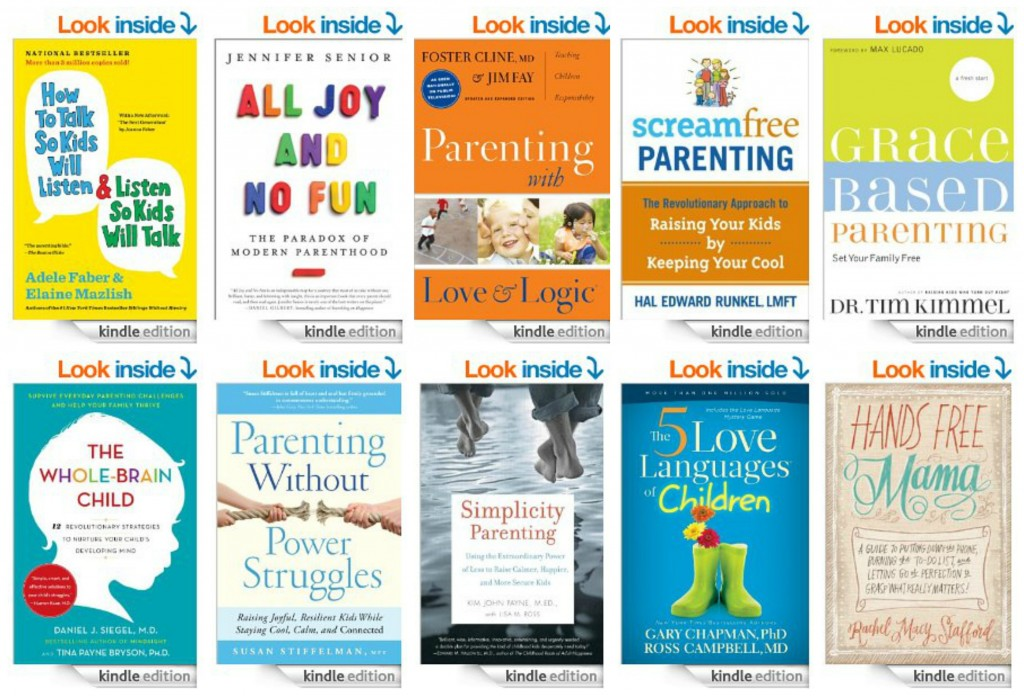 top 10 Kindle books on parenting