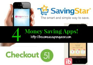 4 money saving apps