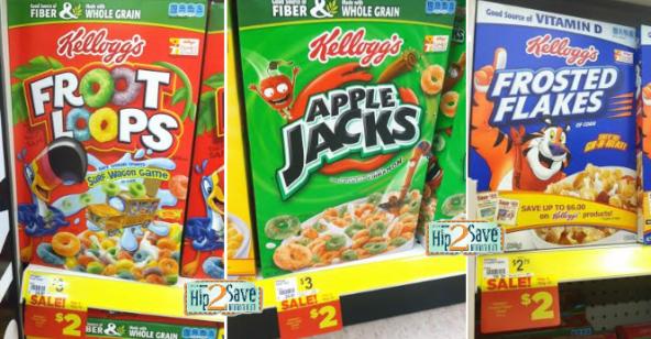cereal deals at dollar general