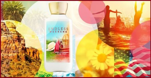 endless weekend bath and body works