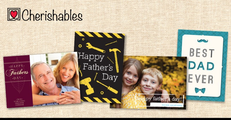 personalized father's day card cherishables
