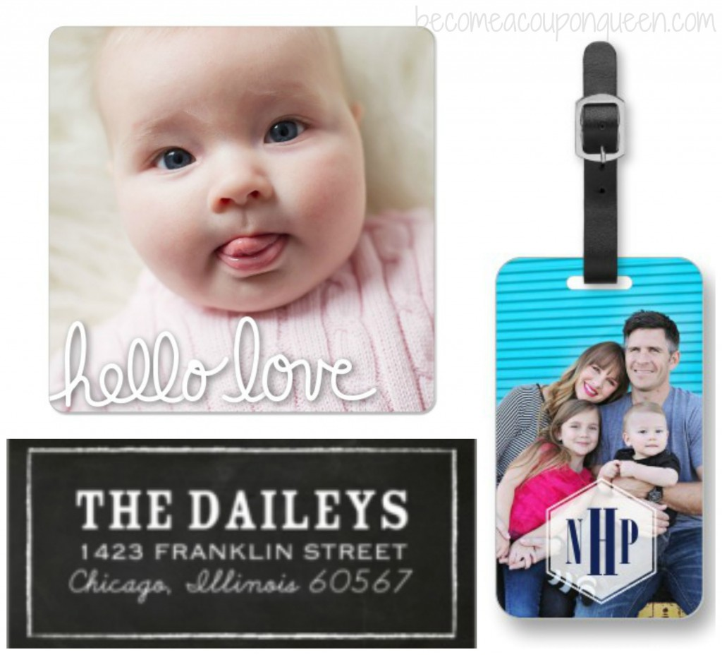 FREE Magnet, Luggage Tag, or Address Labels from Shutterfly!