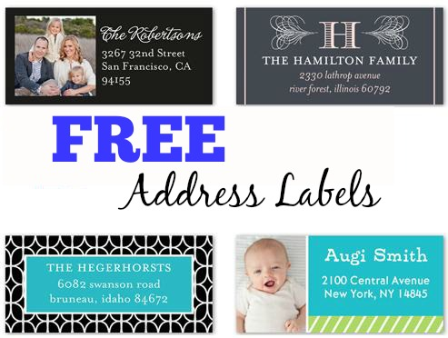 FREE Address Labels from Shutterfly!