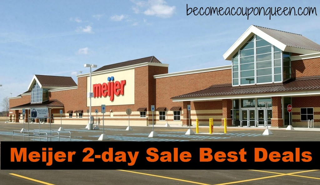 meijer 2-day sale best deals