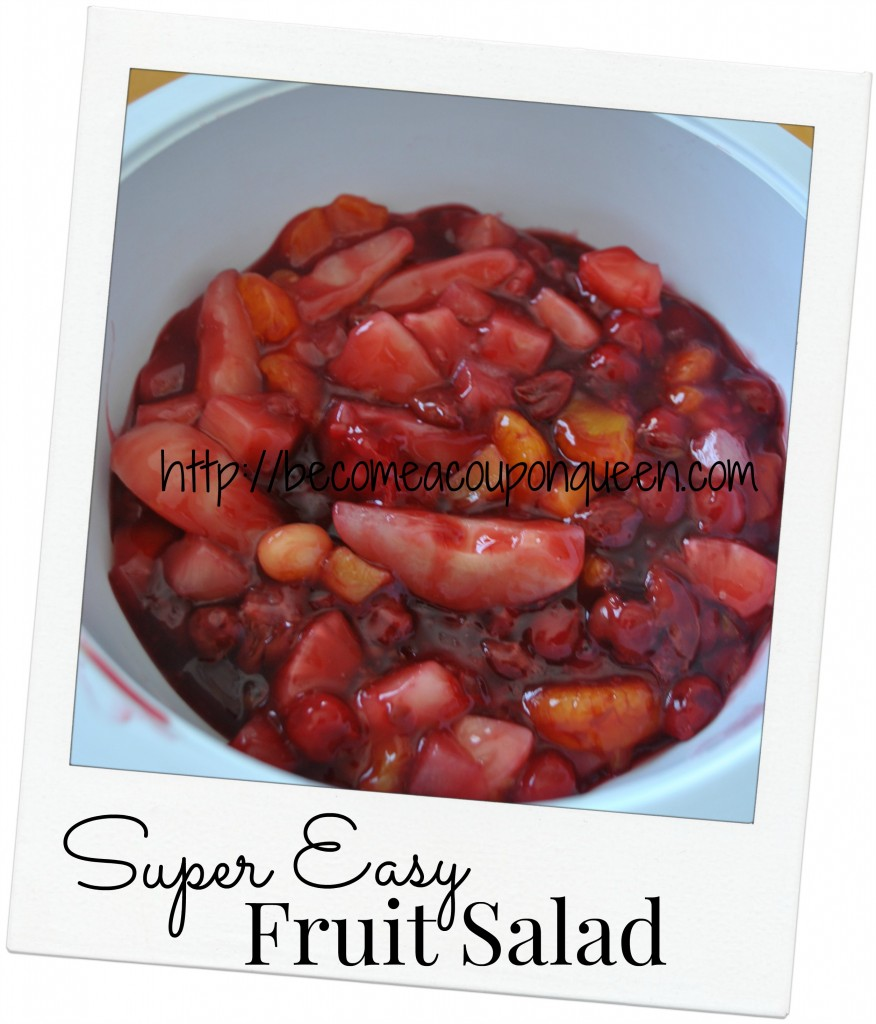 super easy fruit salad