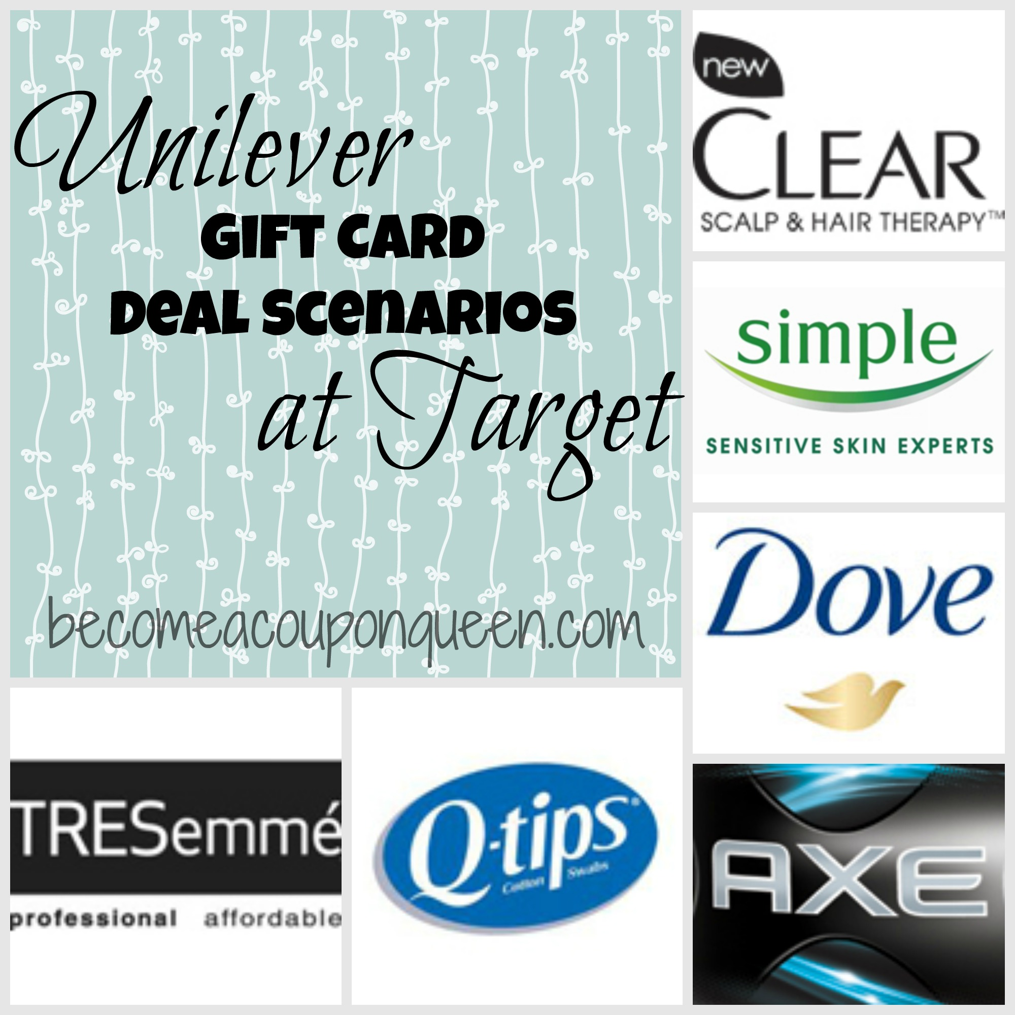 unilever gift card deal scenarios at target - Christmas Gift Card Deals