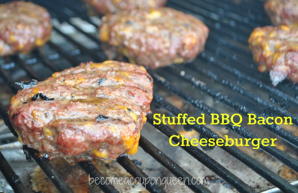 Stuffed BBQ Bacon Cheeseburger