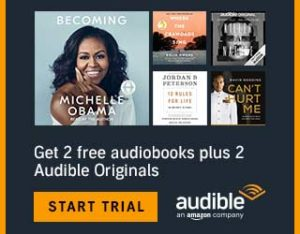 TWO FREE Audiobook Downloads from Audible!