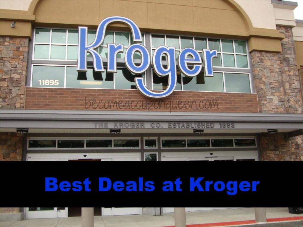 best deals at kroger