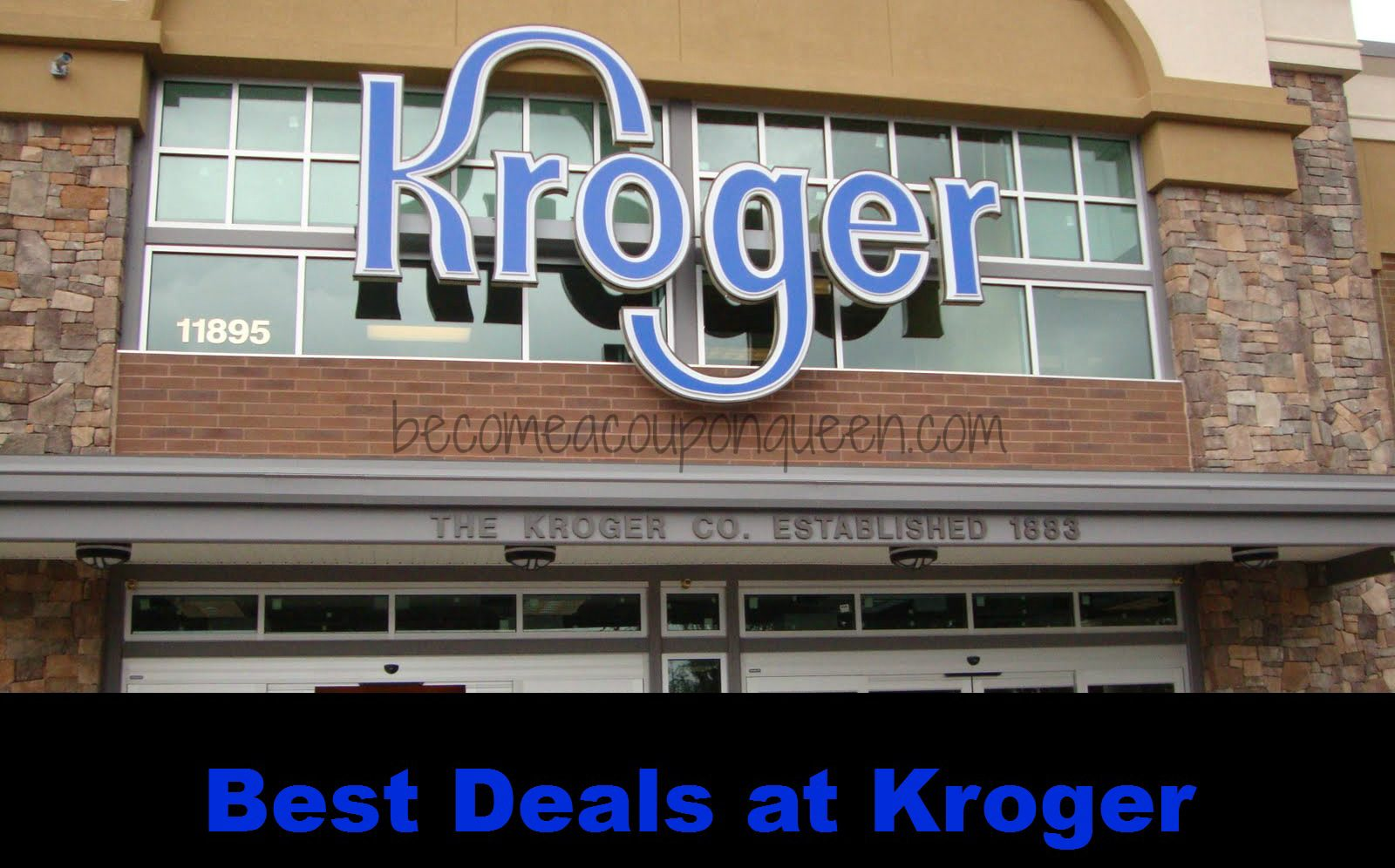 Kroger discount coupons
