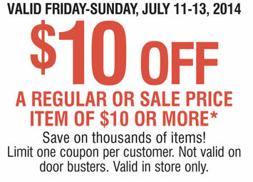 carsons 10 off 10 coupon