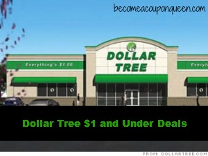 dollar tree 1 and under deals