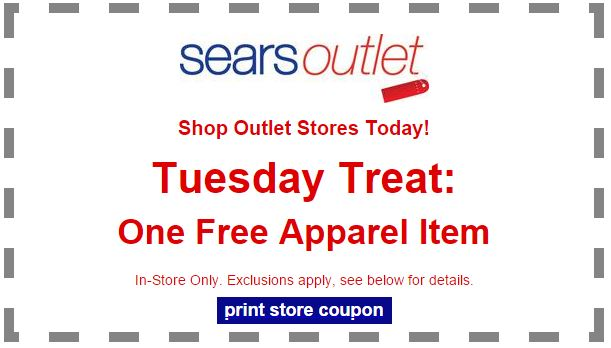 sears free apparel