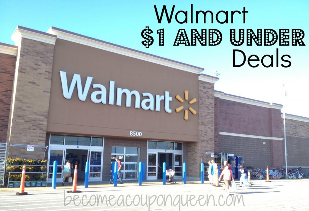 walmart $1 and under deals