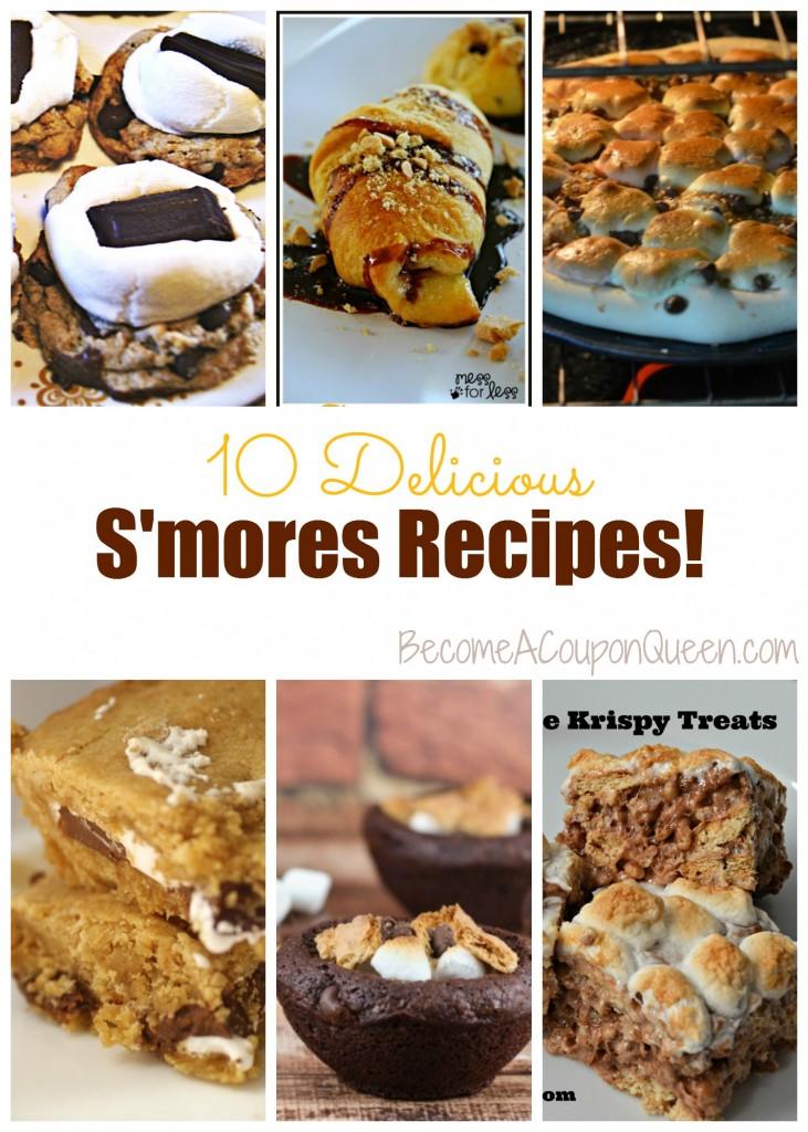 10 Delicious s'mores recipes