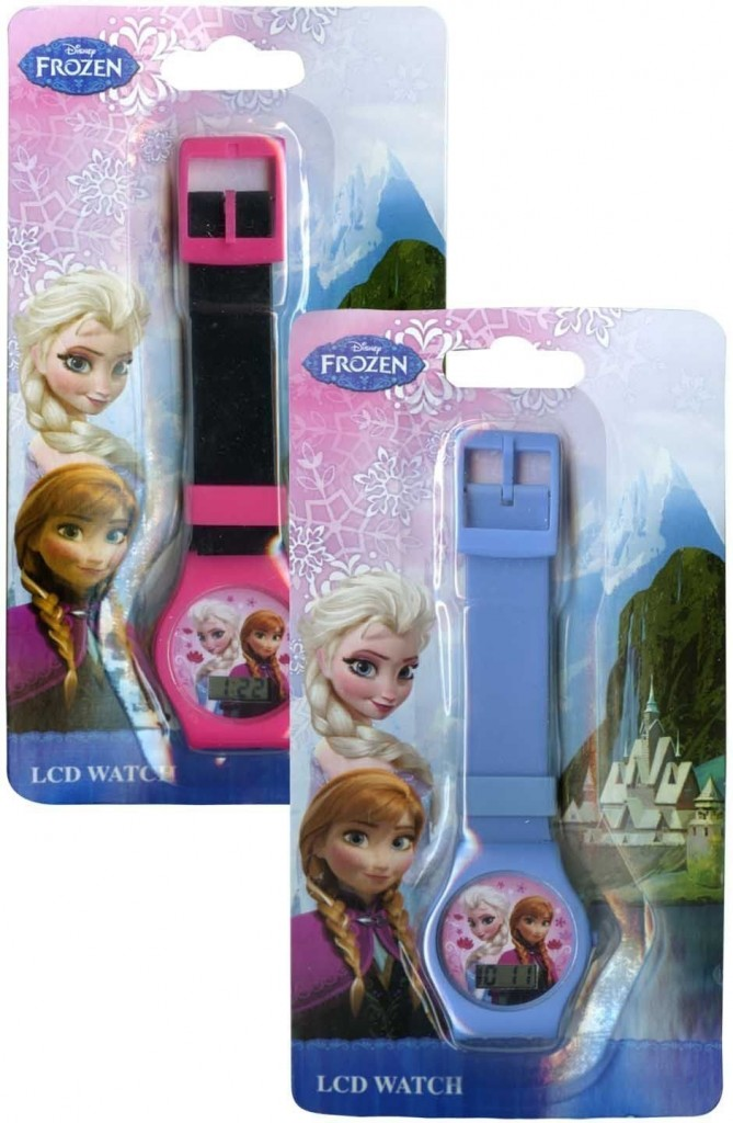Disney Frozen Elsa and Anna Girls Digital Kids Watch